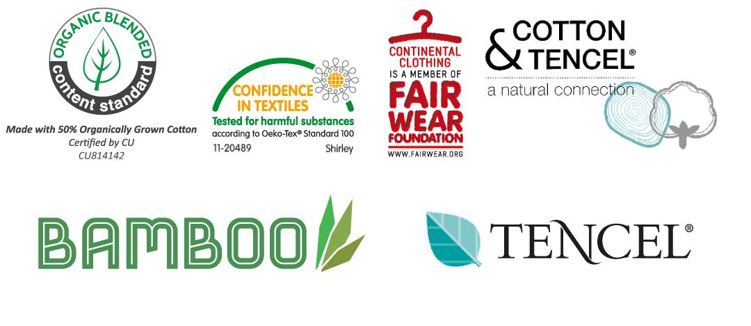 Continental Zertifikate Logos