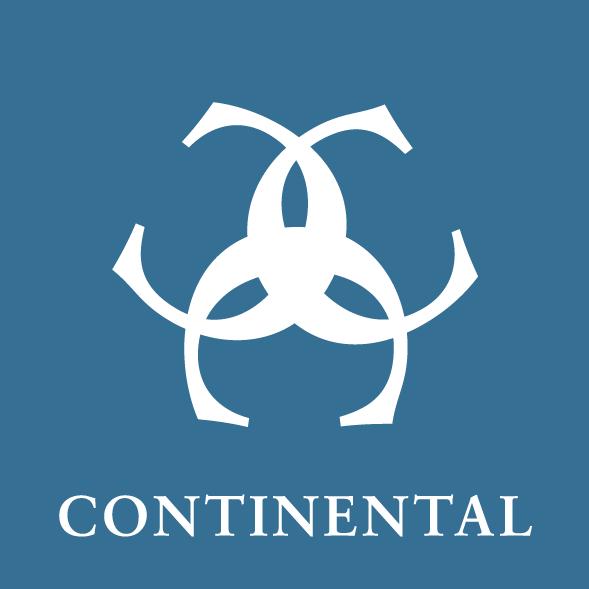 Klassische T-Shirt Marke aus hochwertigen Textilien in Deutschland - Continental Logo