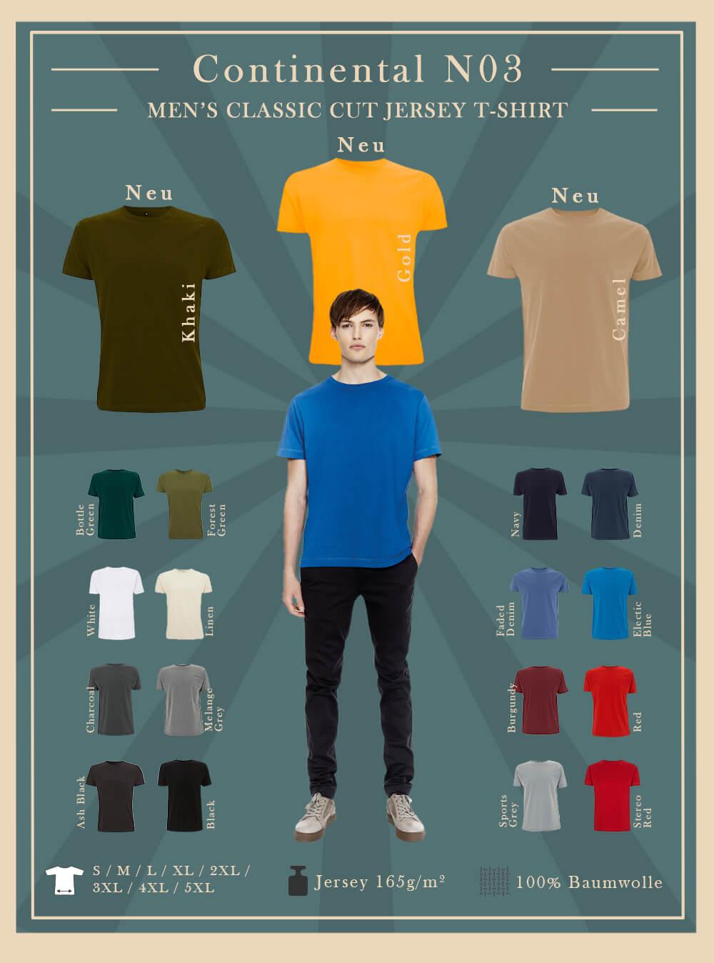 N03 Continental t-shirt