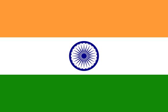 Flagge Indien